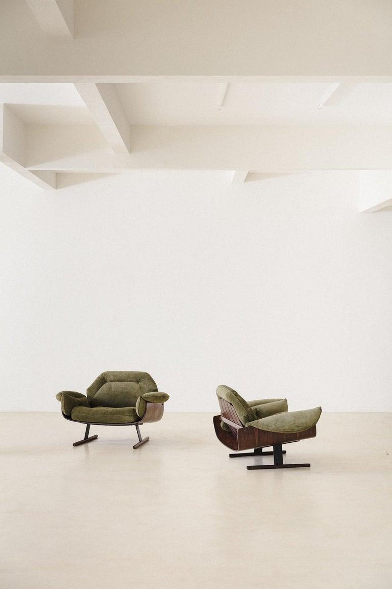 Mid-Century Modern Presidencial Armchair by Brazilian Designer Jorge Zalszupin For Sale 10