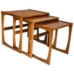 Mid-Century Modern Quadrille Nesting Table by G-Plan