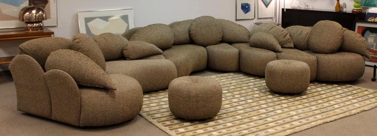 Mid-Century Modern Mid Century Modern Rare Large Roche Bobois Sculptural Sectional Sofa Kagan Era