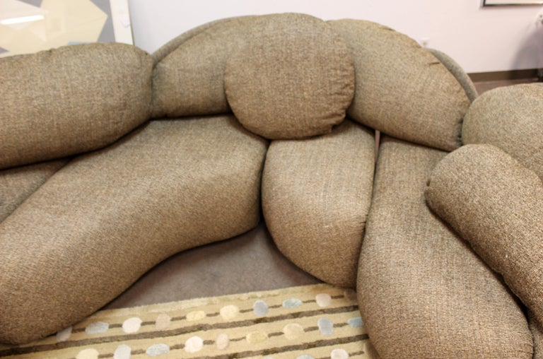 Mid Century Modern Rare Large Roche Bobois Sculptural Sectional Sofa Kagan Era 2