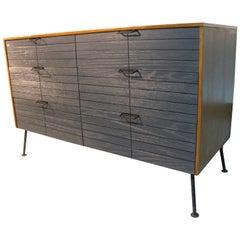 Mid-Century Modern Raymond Loewy Six-Drawer Dresser by Mengel