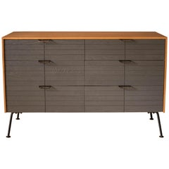 Mid-Century Modern Raymond Loewy Two-Tone Dresser for Mengel Furniture Company