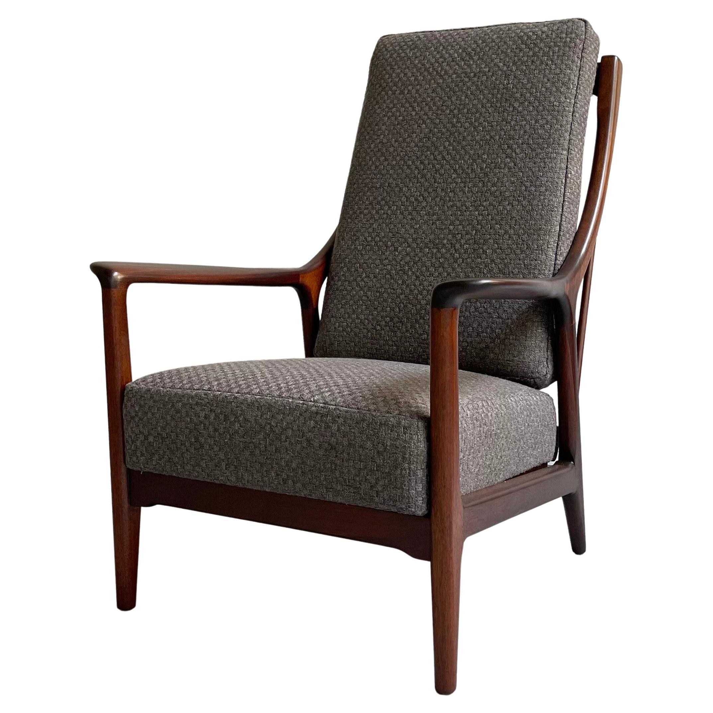 Mid Century Modern Reclining Lounge Chair