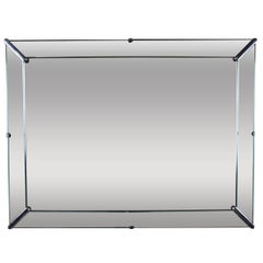 Mid-Century Modern Rectangular Mirror