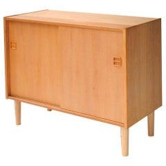 Mid-Century Modern Rectangular Oak Norwegian Sideboard, 1960