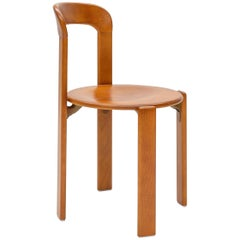 Mid-Century Modern, Rey Chair by Bruno Rey, Color Vintage Cherry, Design 1971