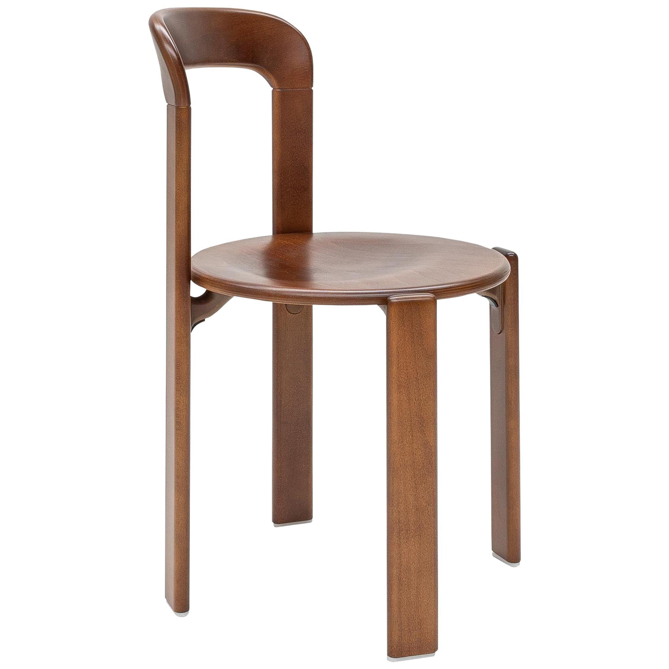 Mid-Century Modern, Rey Chair by Bruno Rey, Color Vintage Chestnut, Design 1971