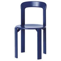 Mid-Century Modern, Rey Navy Blue Chair by Bruno Rey, Design 1971