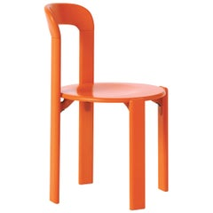 Mid-Century Modern, Rey Orange Chair by Bruno Rey, Design 1971