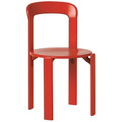 Mid-Century Modern, Rey Red Chair, by Bruno Rey, Design 1971