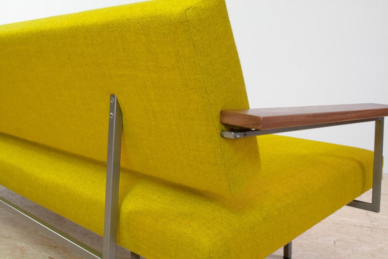 Mid-Century Modern Rob Parry Sofa 3-Seat Model Lotus 75 in Yellow, 1960s In Excellent Condition For Sale In Beek en Donk, NL