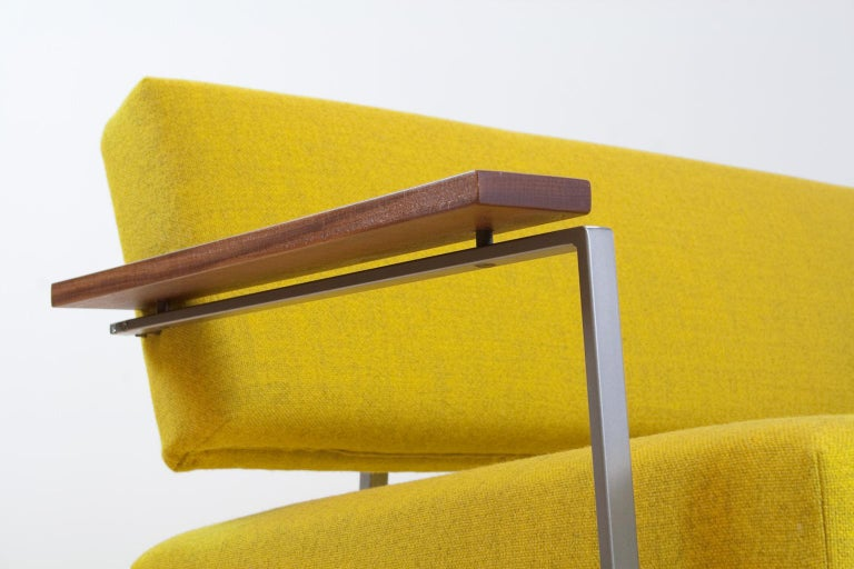 Mid-Century Modern Rob Parry Sofa 3-Seat Model Lotus 75 in Yellow, 1960s For Sale 1