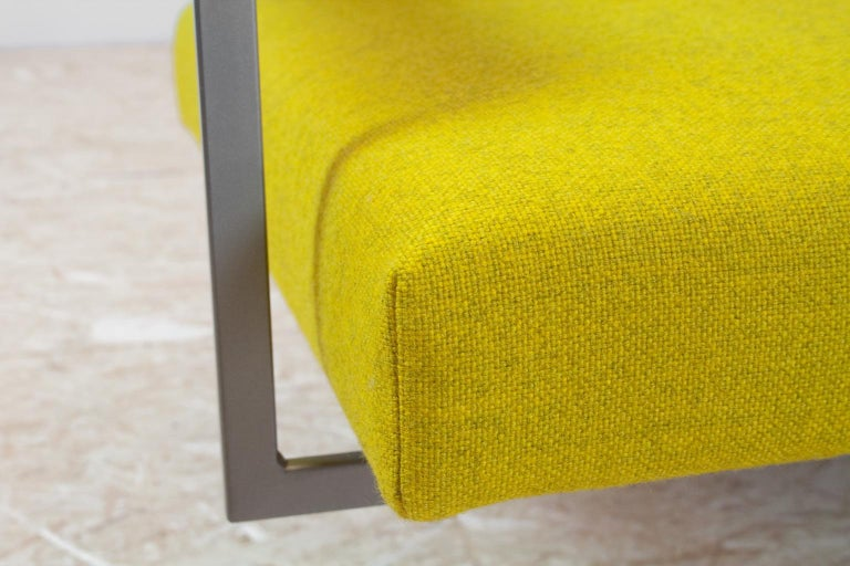 Mid-Century Modern Rob Parry Sofa 3-Seat Model Lotus 75 in Yellow, 1960s For Sale 2