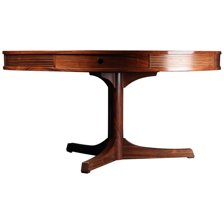 Mid-Century Modern Rosewood Dining Table by Archie Shine For Sale