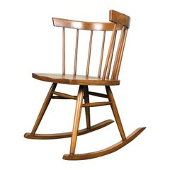 Mid-Century Modern Rocking Chair by Lucian Ercolani for Ercol, 1950s