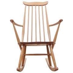 Mid-Century Modern Rocking Chair for Children