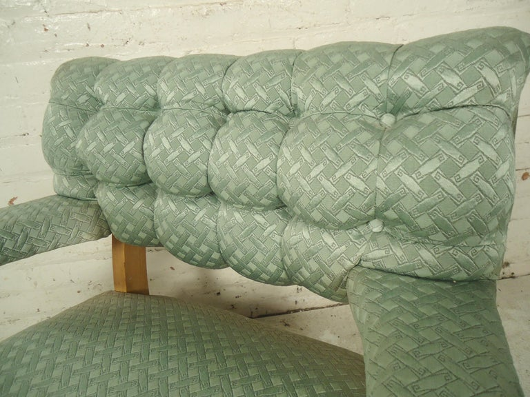 Fabric Mid-Century Modern Rocking Chair For Sale