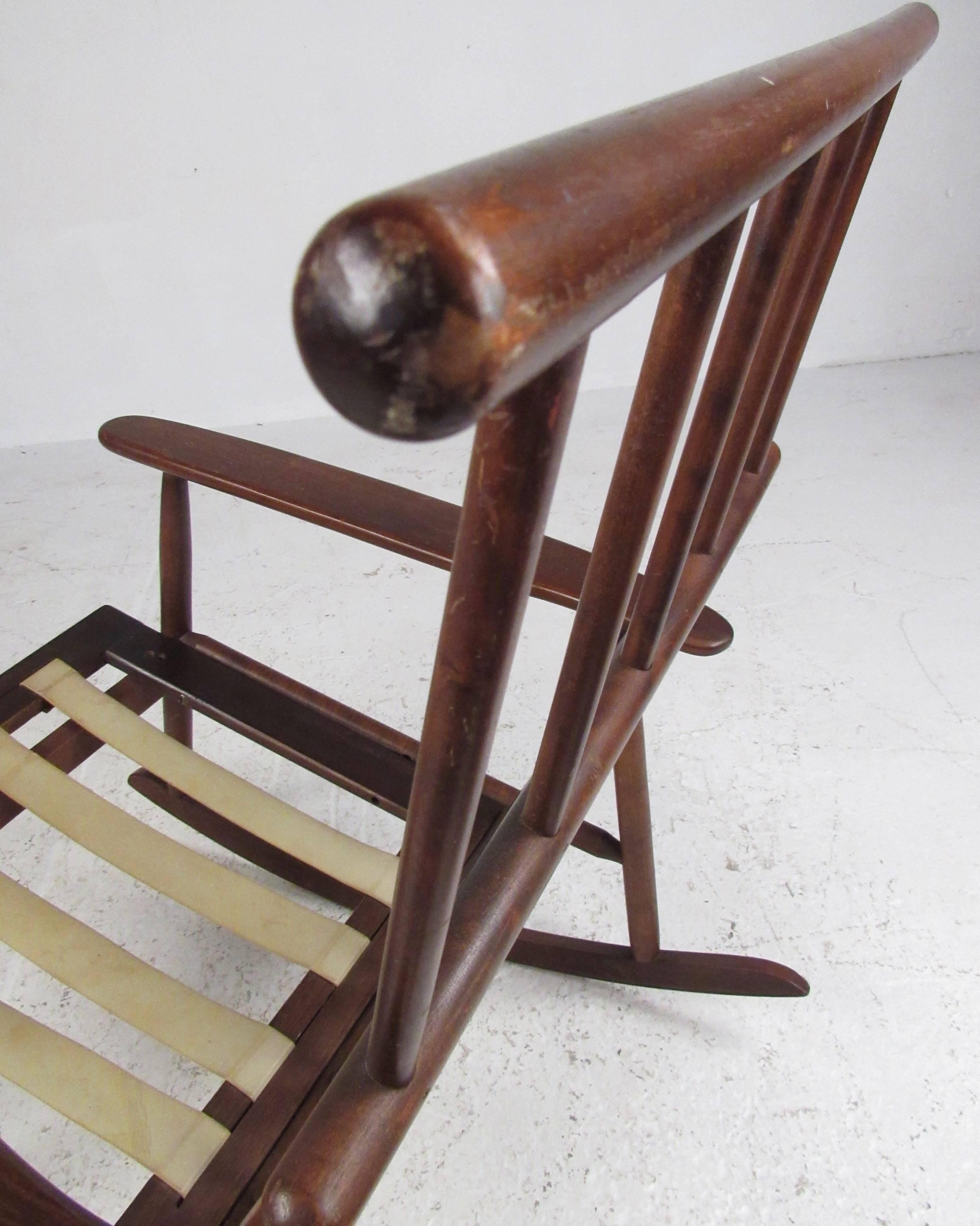 Prime Mid Century Modern Rocking Chair Inzonedesignstudio Interior Chair Design Inzonedesignstudiocom