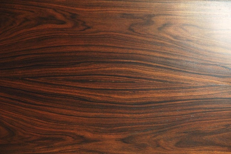 Mid-Century Modern Rosewood and Walnut Scandinavian Sideboard, 1960s For Sale 6