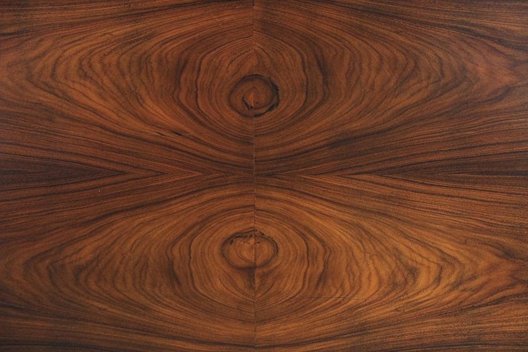 Mid-Century Modern Rosewood and Walnut Scandinavian Sideboard, 1960s For Sale 3