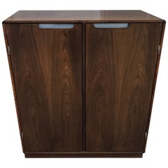 Mid-Century Modern Rosewood Bar Cabinet by Danish Maker Sibast Mobler, 1960s