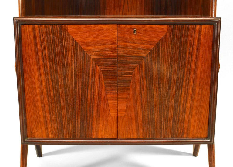 Mid-Century Modern Rosewood Cabinet For Sale 5