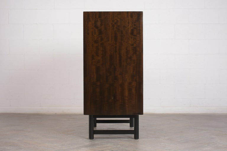 Wood Mid-Century Modern Rosewood Chest of Drawers