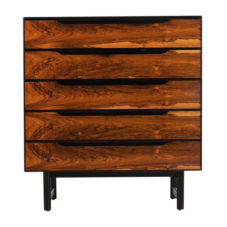 Mid-Century Modern Rosewood Chest of Drawers