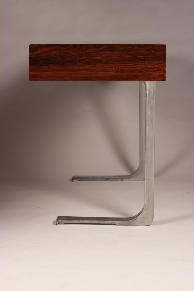 Mid Century Modern Rosewood Console Table or Desk by Robert Heritage For Sale 3