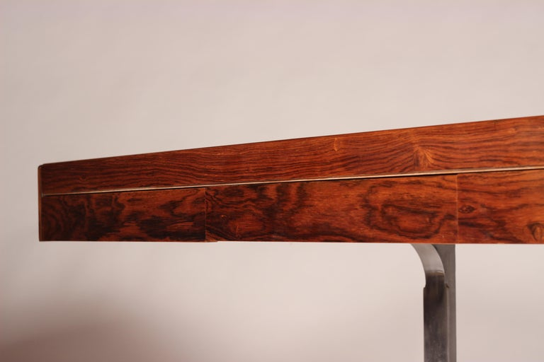 Mid Century Modern Rosewood Console Table or Desk by Robert Heritage For Sale 9