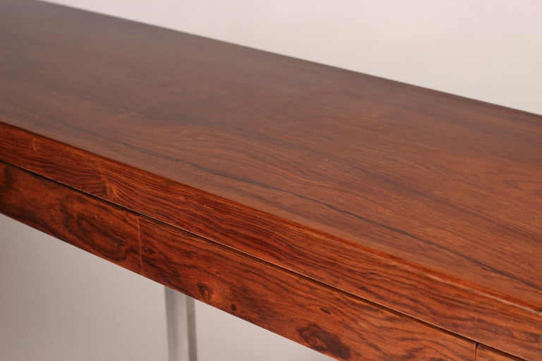 Mid Century Modern Rosewood Console Table or Desk by Robert Heritage For Sale 10