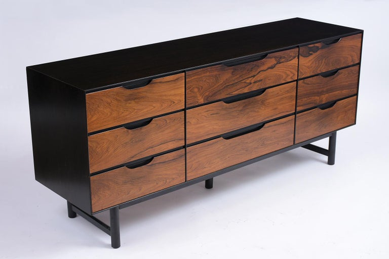 Mid-20th Century Mid-Century Modern Rosewood Credenza For Sale