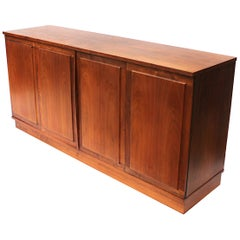 Mid-Century Modern Rosewood Credenza TV Console by Jack Cartwright for Founders