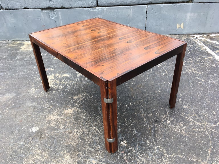 Canadian Mid-Century Modern Rosewood Dining Table For Sale