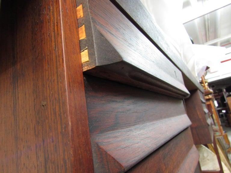 Mid-Century Modern Rosewood Executive Desk by Kai Kristiansen For Sale 6