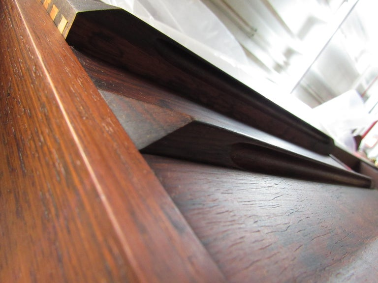 Mid-Century Modern Rosewood Executive Desk by Kai Kristiansen For Sale 7