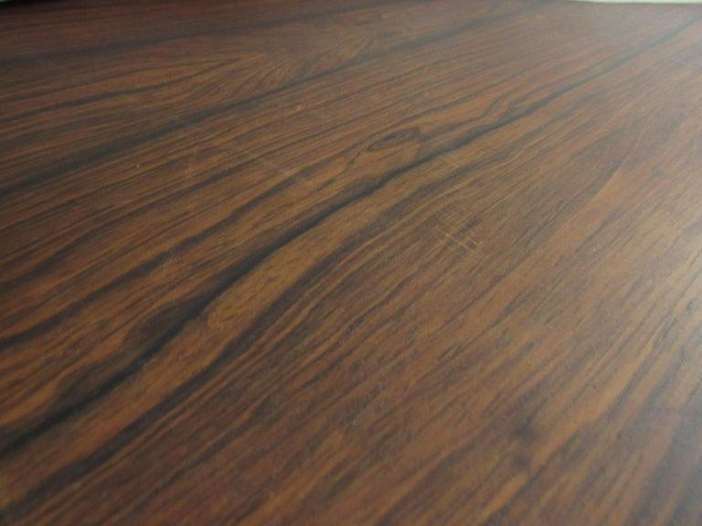 Mid-Century Modern Rosewood Executive Desk by Kai Kristiansen For Sale 10