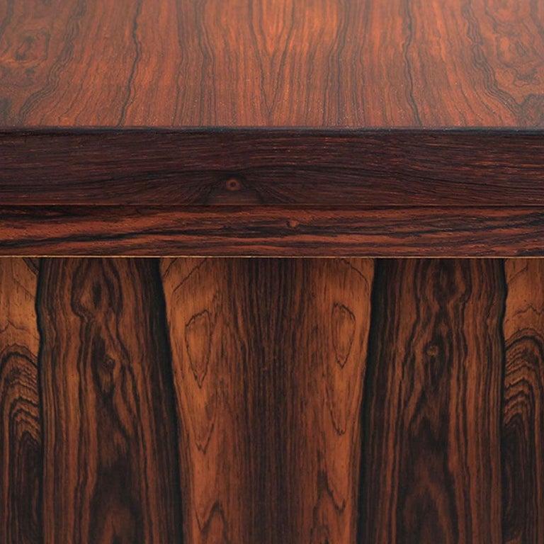 Mid-Century Modern Rosewood Executive Desk by Kai Kristiansen, Model 70, 1950s For Sale 3