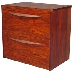 Mid-Century Modern Rosewood File Cabinet