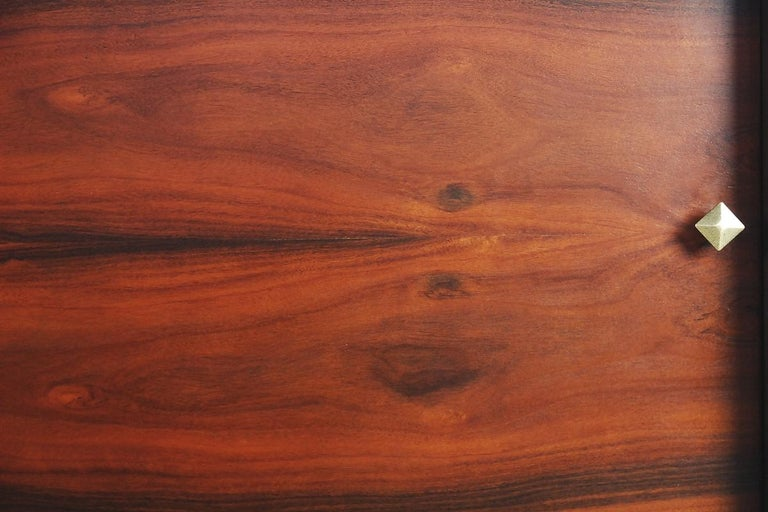 Mid-Century Modern Rosewood Organic Sideboard with Labyrinth Pattern, 1960s For Sale 6