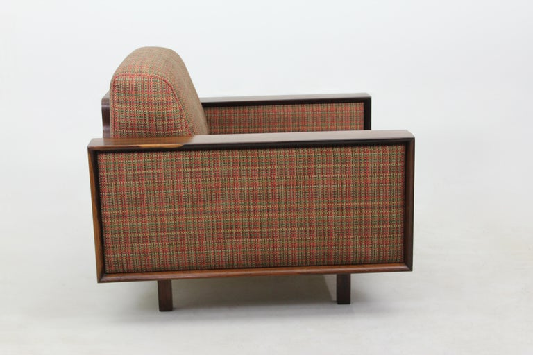 Mid-Century Modern Pair of Armchairs by Celina Decorações, Brazil 1960s In Good Condition For Sale In Miami, FL