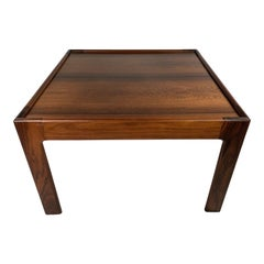 Mid-Century Modern Rosewood Side Table