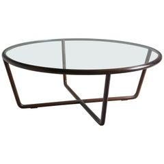 Mid-Century Modern Round Coffee Table Designed by Joaquim Tenreiro