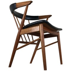 Mid-Century Modern Roundback Chair in Teak by Sibast, Denmark, 1950s