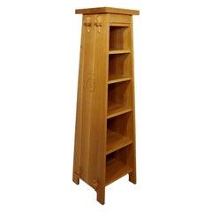 Mid-Century Modern Roycroft Asian Style Tall Shelving Unit Bookcase & Magazine