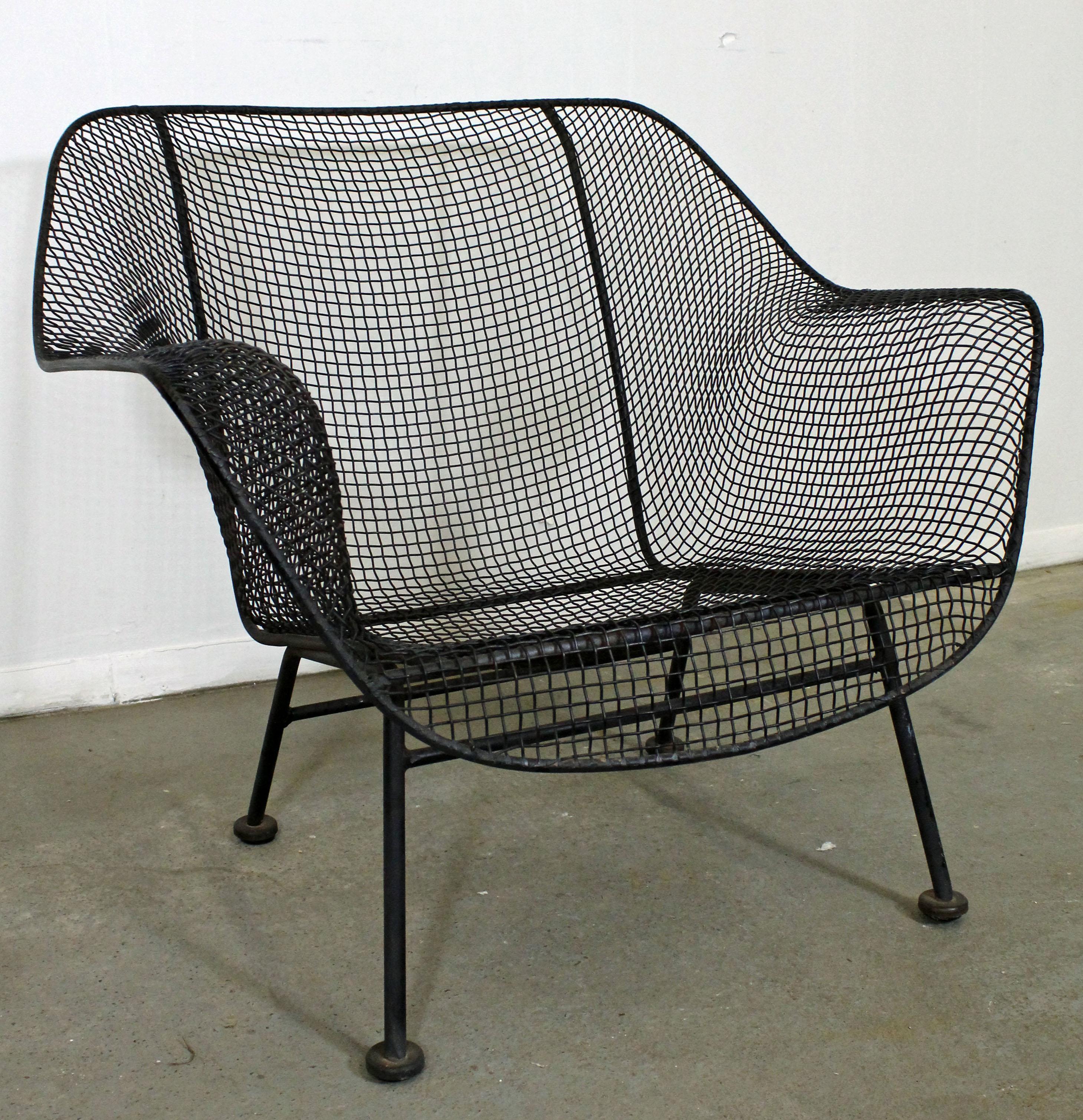 Mid century modern russell woodard sculptura outdoor lounge chair at 1stdibs
