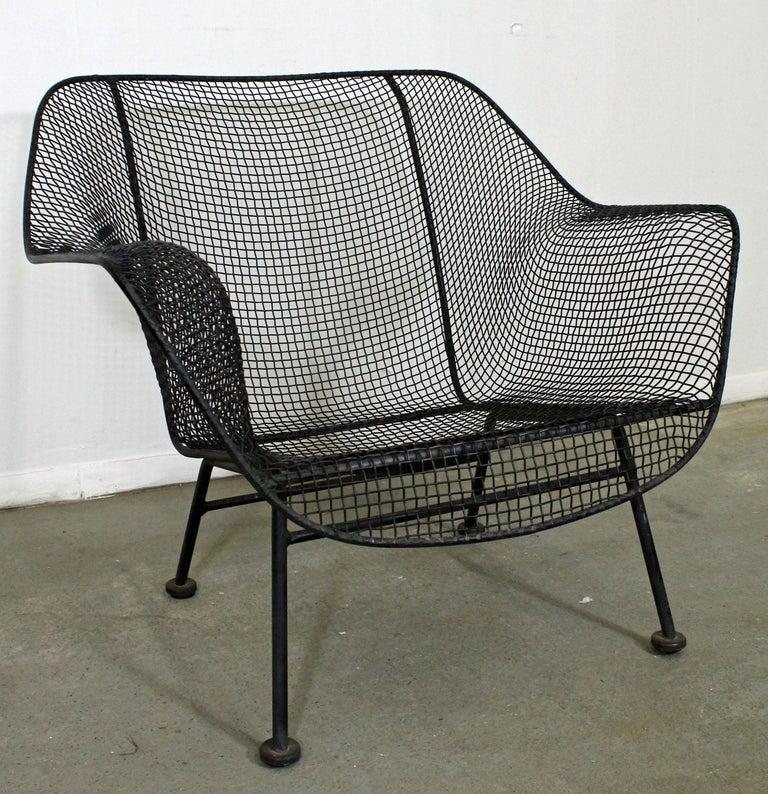 Mid Century Modern Russell Woodard Sculptura Outdoor Lounge Chair
