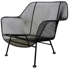 Mid-Century Modern Russell Woodard 'Sculptura' Outdoor Lounge Chair