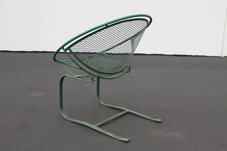 Mid-Century Modern Salterini Patio Set Table with Four Radar Chairs For Sale 10