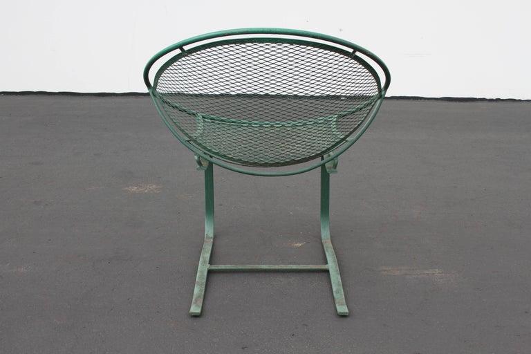 Mid-Century Modern Salterini Patio Set Table with Four Radar Chairs For Sale 12